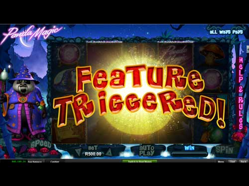 Silversands Casino Video Slot: Panda Magic