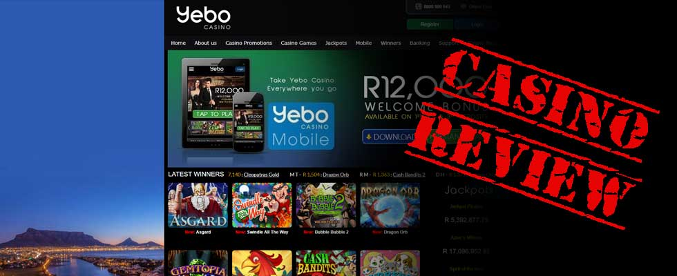 Yebo Casino - Casino Review by Safe-OnlineCasinos.co.za